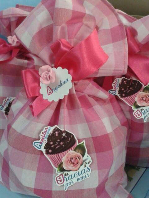 Bolsas de tela para regalos recuerdos o cotillones