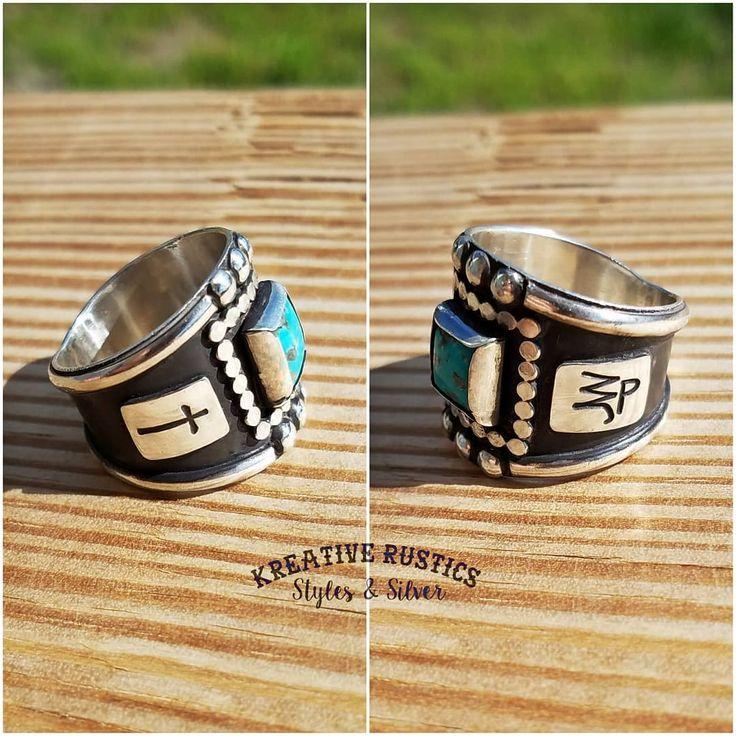 Custom western rings by kreative rustics class ring