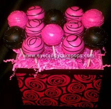 Bachelorette Cake Pops  Wedding Cake Pops