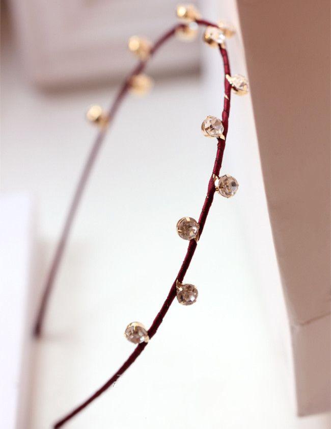 Two-Side Rhinestone Decorated Hair Clasp_Headwear_Accessories_Digbabies
