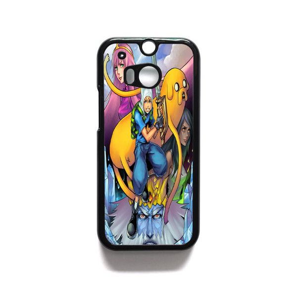 Adventure Time Wow HTC One M7 M8 iPod Touch 4 5 Case Cover