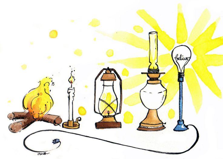 Makeforgood Ink Illustration 'Believe' Building Brighter Futures by…