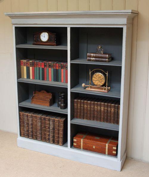 painted bookshelves | ... bookcases antique edwardian bookcases antique painted…