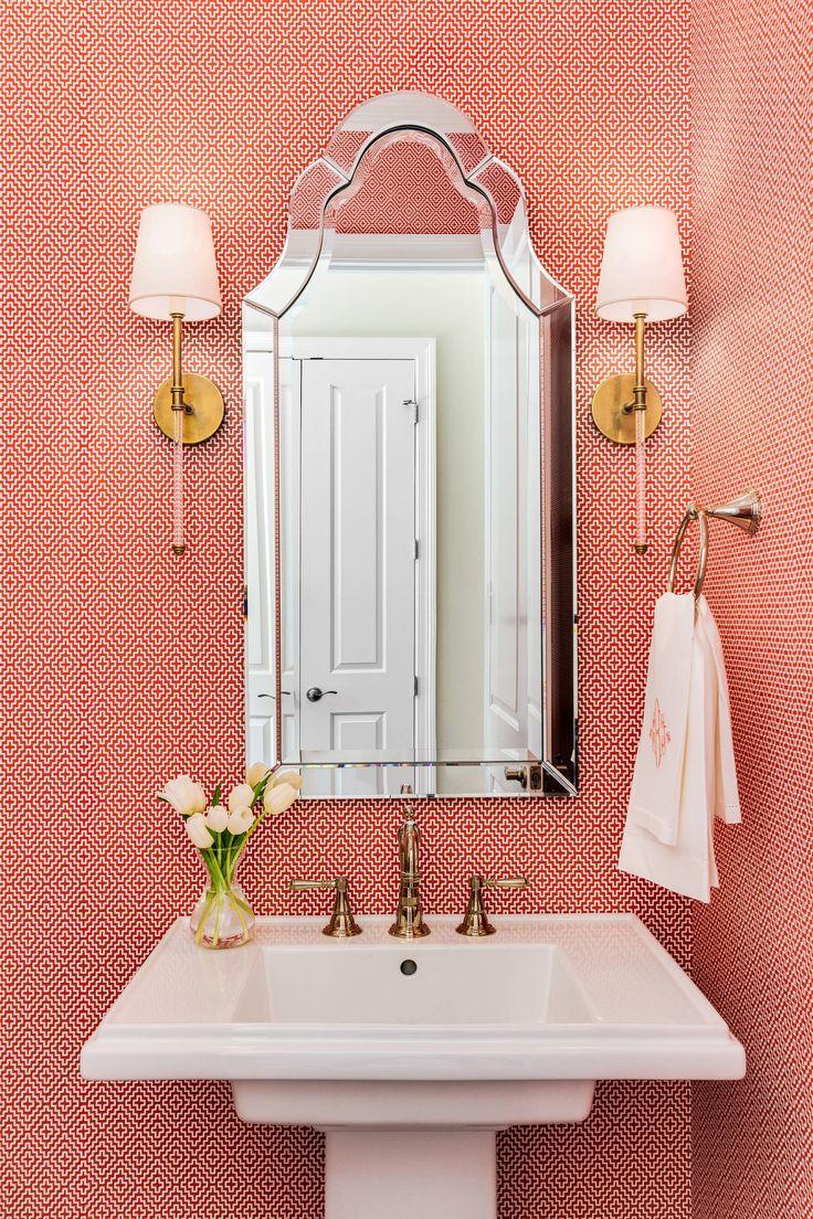 С каким цветом сочетается красный: 75 потрясающих идей и вдохновляющих цветовых схем (фото) http://happymodern.ru/s-kakim-cvetom-sochetaetsya-krasnyj-75-foto/ Красный с белым в отделке стен ванной комнаты Смотри больше http://happymodern.ru/s-kakim-cvetom-sochetaetsya-krasnyj-75-foto/