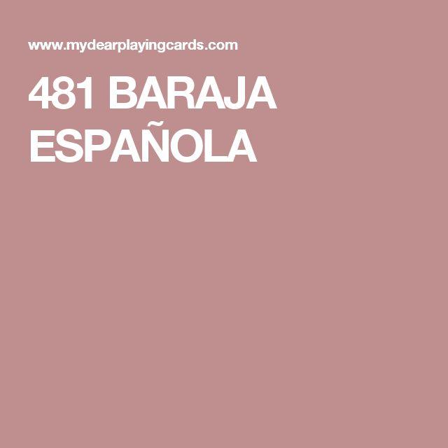 481 BARAJA ESPAÑOLA