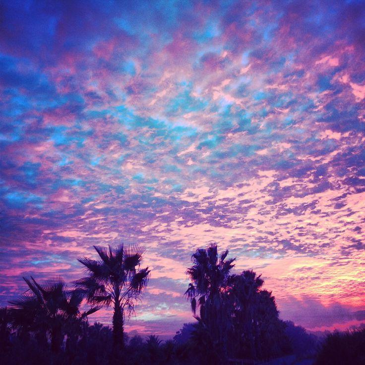 Winter sunset in Kos