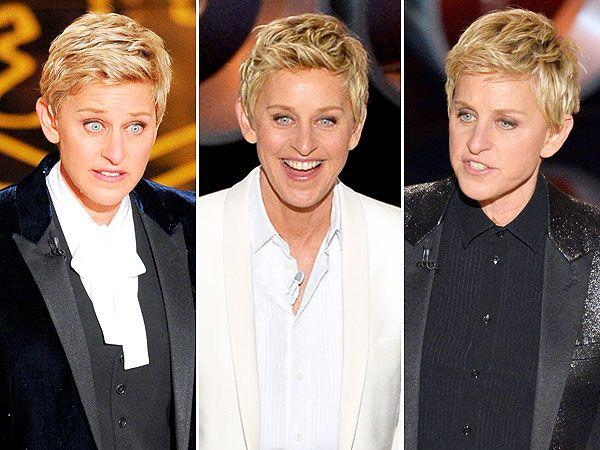 EXCLUSIVE: The Guide to Ellen DeGeneres's Textured Oscars Pixie | People.com