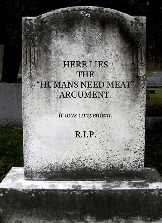 Go vegan.