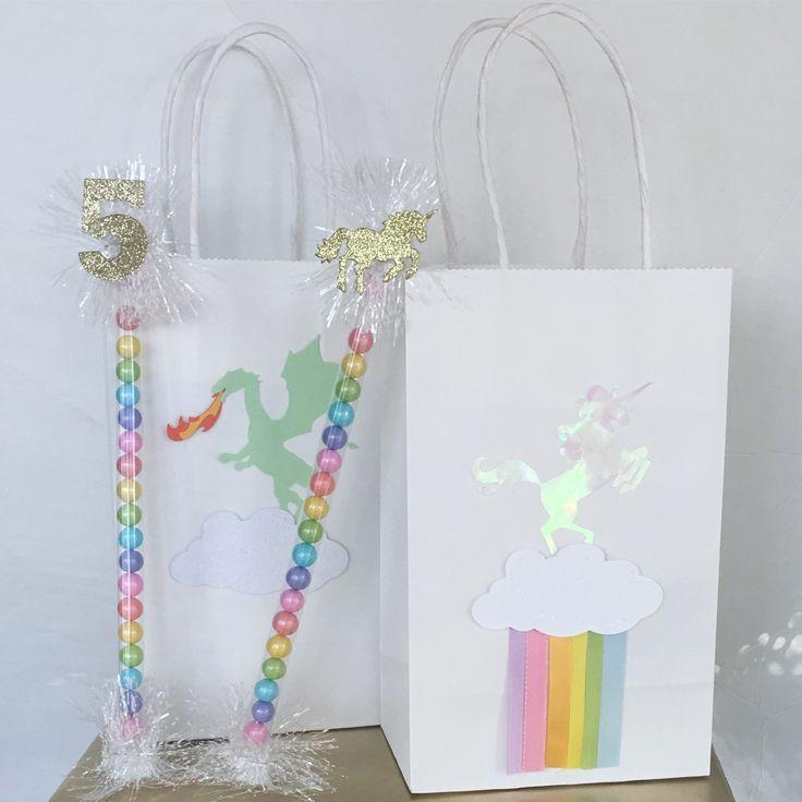 Unicorn party, unicorn birthday, pastel rainbow party, dragon birthday, pastel unicorn, iridescent party, unicorn gift bag, unicorn party favor, unicorn goodie bag, unicorn party supplies, unicorn decorations, gold unicorn party