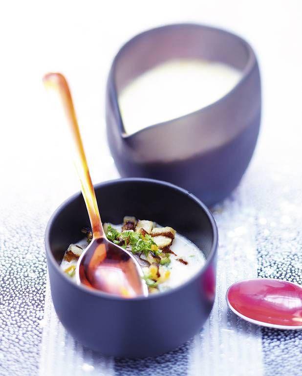Effilochée de boeuf et foie gras, crème au raifort pour 6 personnes - Recettes - Elle