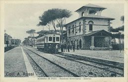 Ferrovia Pisa (ACIT)-Livorno Accademia Navale - Ferrovie abbandonate