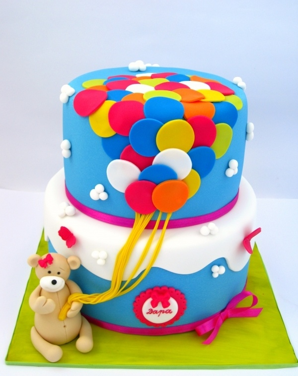 Cake Decoration For Kid : 224 best Kids Birthday cakes images on Pinterest Baby ...