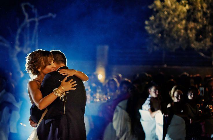 First Dance | Spyros & Filitsa's Wedding in Volos   http://www.xstudio.gr/favorites/ #firstdance #greeceweddingphotographers #greekweddings #weddingingreece