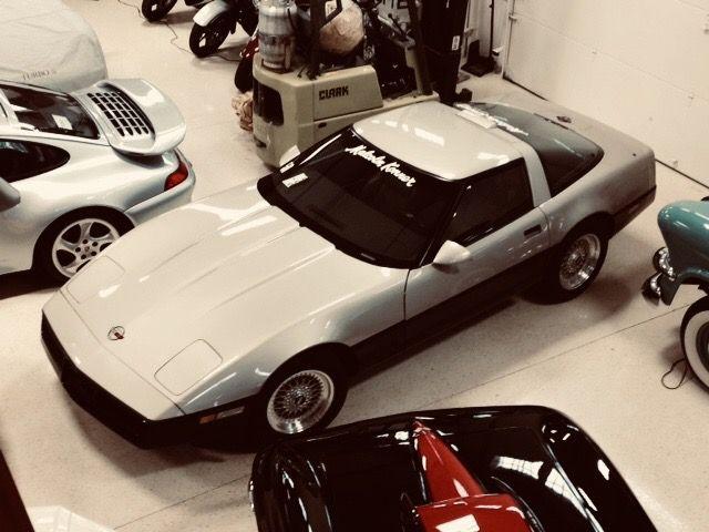 Malcolm Konner Commemorative Edition Malcolmkonner Corvette Corvette Sports Car Toy Car