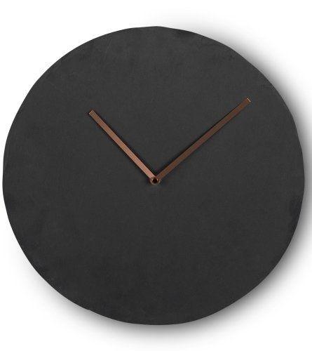 wall clocks amazon india modern uk large miner clock slate copper