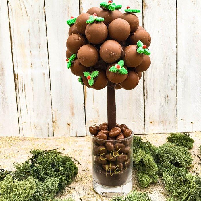 Personalised Lindor & Holly Tree Sweet Tree | GettingPersonal.co.uk