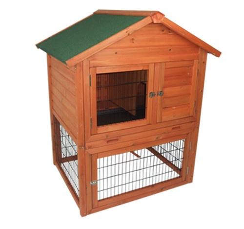 Portable wooden pet rabbit house chicken coop wood hen for Portable hen house