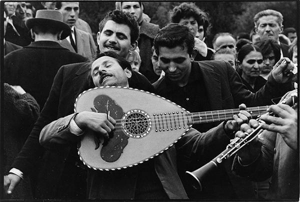 Μουσικοί, δεκαετία 1960 © Κωνσταντίνος Μάνος ~ Greek Musicians