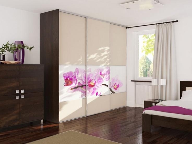 Art Glass sliding wardrobe