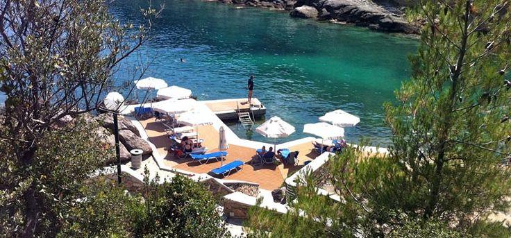 Our almost private #beach  #Halkidiki #PortoValitsa