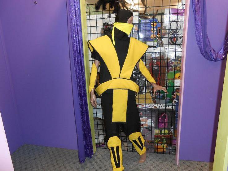 Mortal Kombat - Scorpion costume. others available.
