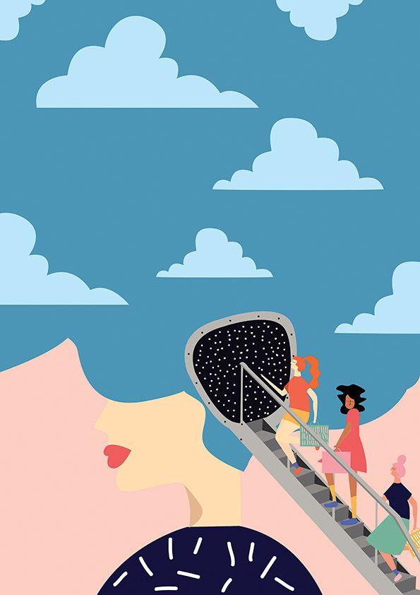 Annachiara Zaminato I Italy I #Mindtravellers #SoffaMag  #Art #Design #Illustration #Travelling