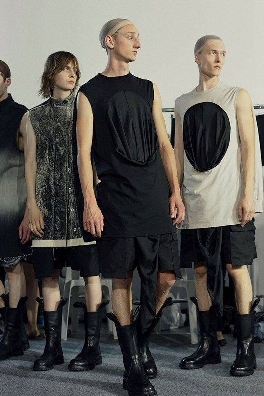 Visions of the Future: Backstage at Rick Owens SS16