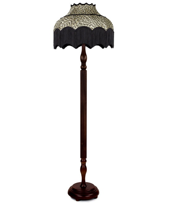 119 best lamps images on pinterest lamp shades diy lampshade brown wild card standard lamp from house of hackney mozeypictures Gallery