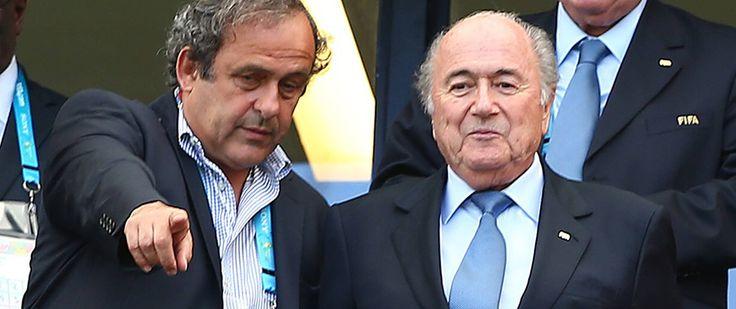 Blatter ve Platini'nin görevi askıya alındı!