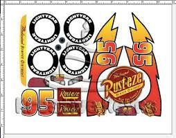 Image result for decals lightning mcqueen