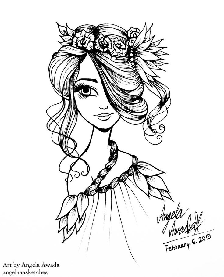 624 best Coloring pages (portraits) for grown ups images