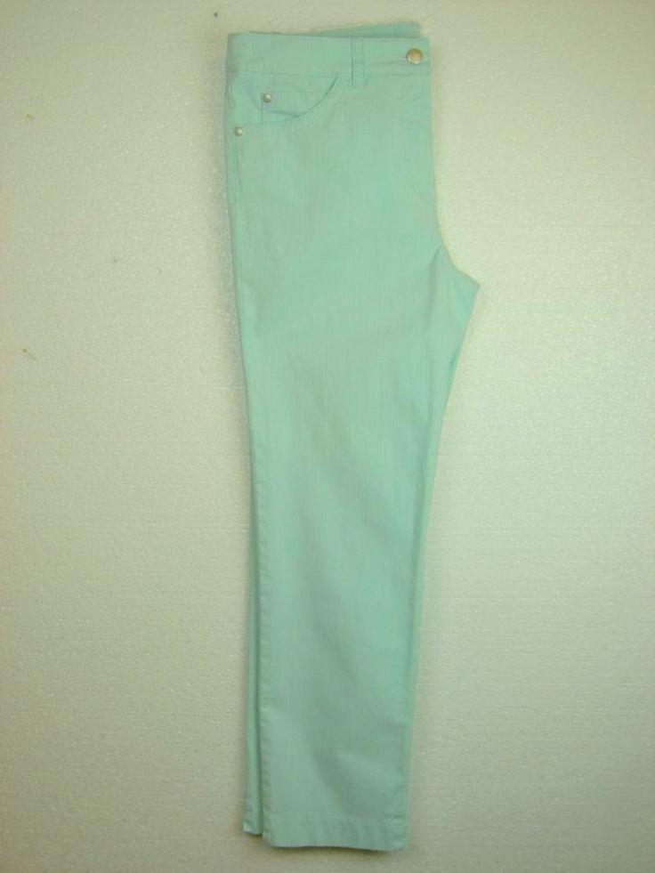 #GerryWeber Edition #Maui jeans #broek Irene 7/8 lengte aqua groen
