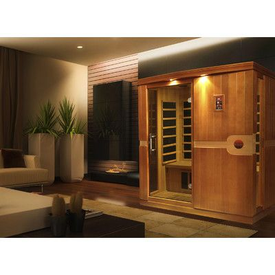 Dynamic Infrared Madrid 3 Person FAR Infrared Sauna Finish: Non Stained
