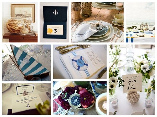 nautical wedding | Nautical Wedding Ideas | SouthBound Bride