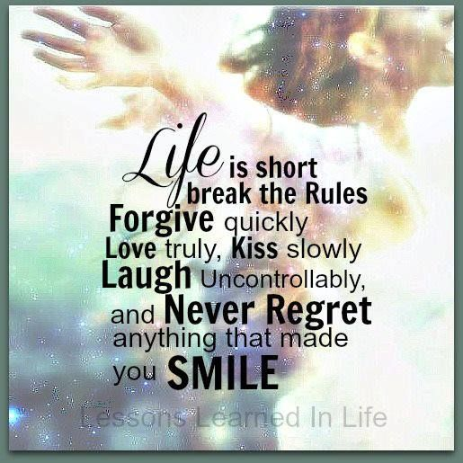 Never Regret Anything That Made You Smile Quote Tattoo: Many More Great Posts At Words Of Wisdom Click Www
