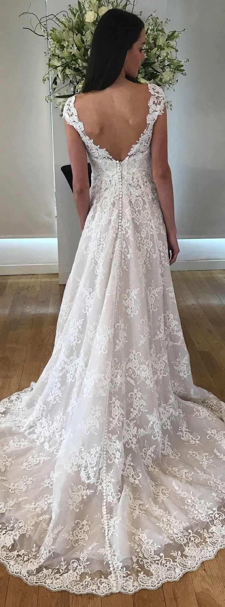Cyrus wedding dress by Kelly Faetanini // Textured tulle champagne ball gown with beaded embroidered cap sleeve illusion neckline