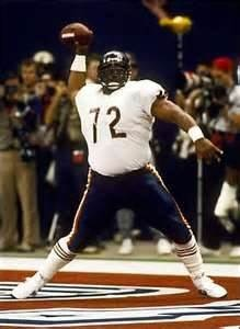 William 'Refrigerator' Perry! Man! That was one fun season! 1985. Chicago Bears Super Bowl Champions.