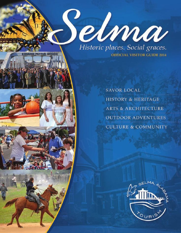 Selma Official Visitor Guide 2014