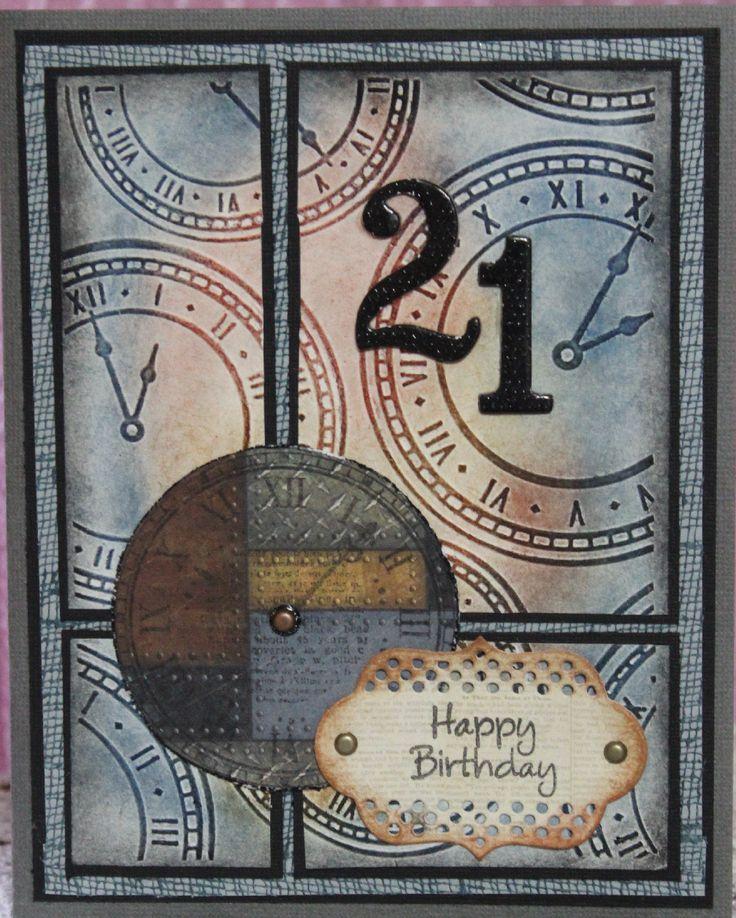 21st+Birthday+Card - Scrapbook.com