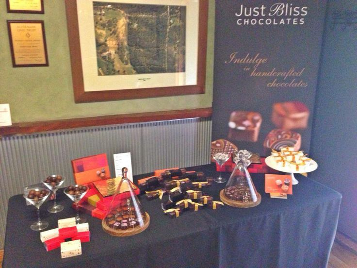 Just Bliss Chocolates - the name says it all!