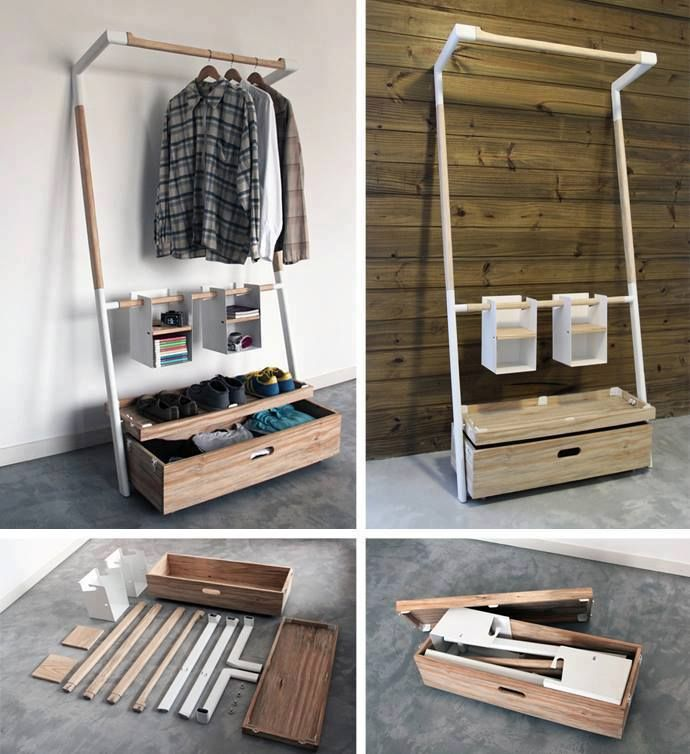Marvelous Modular Portable Closet Www.icreatived.com   I Want This For When I Go