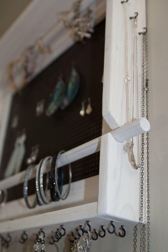 61 best Handmade Jewelry organizers images on Pinterest Jewellery