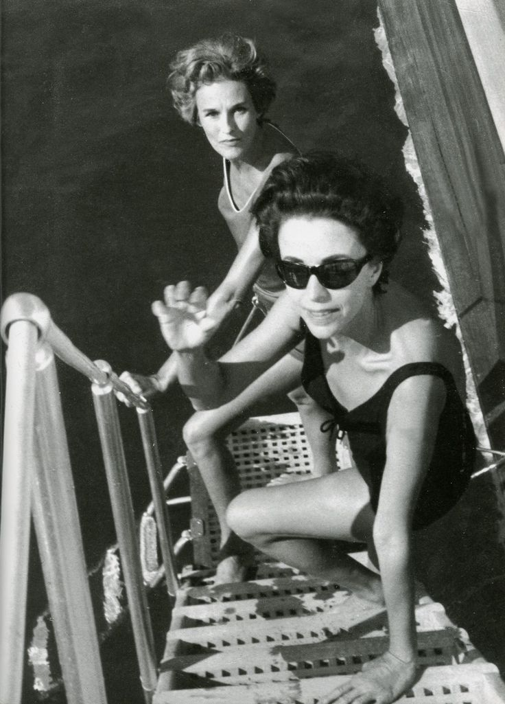 babe paley | BABE PALEY AND GLORIA GUINNESS