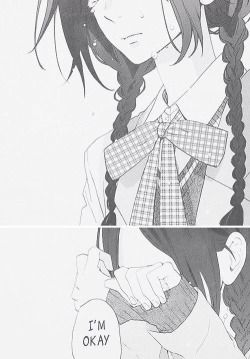 girl cute Black and White sad anime kawaii manga monochrome crying Anime girl cute anime manga