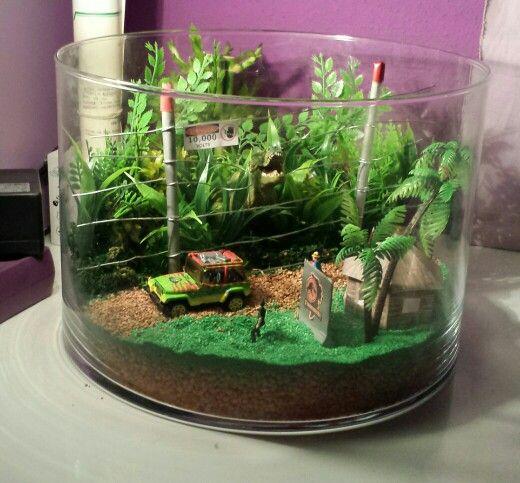 Jurassic park terrarium