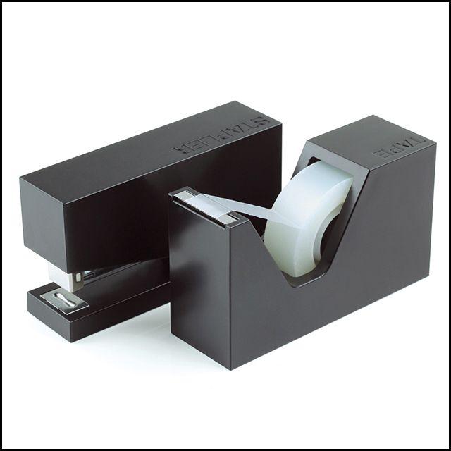 Lexon Buro Stapler & Tape Dispenser Set, $49.95