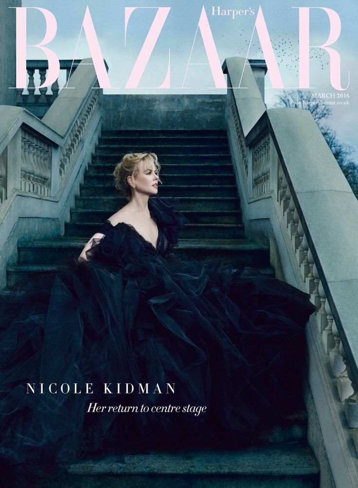 Nicole Kidman is our March issue cover star  - HarpersBAZAAR.co.uk