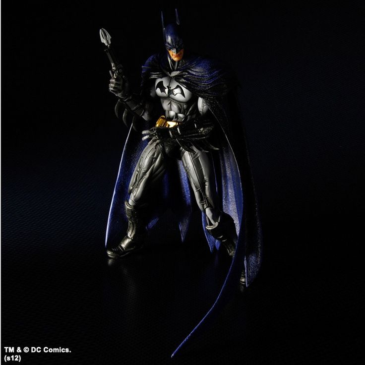 Batman Arkham City Play Arts Kai Action Figure Batman 25 cm