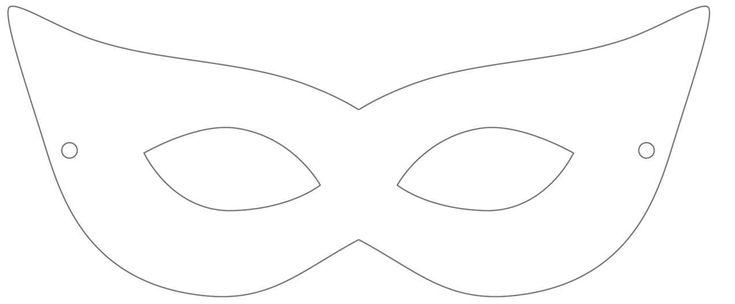 Masquerade Mask Template Nisartmacka Com