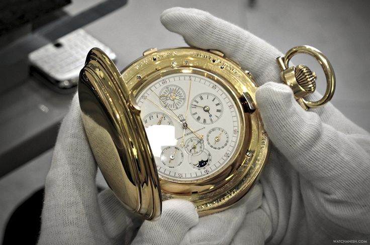 $6,000,000 AP pocket watch! Full article via: watch-anish.com